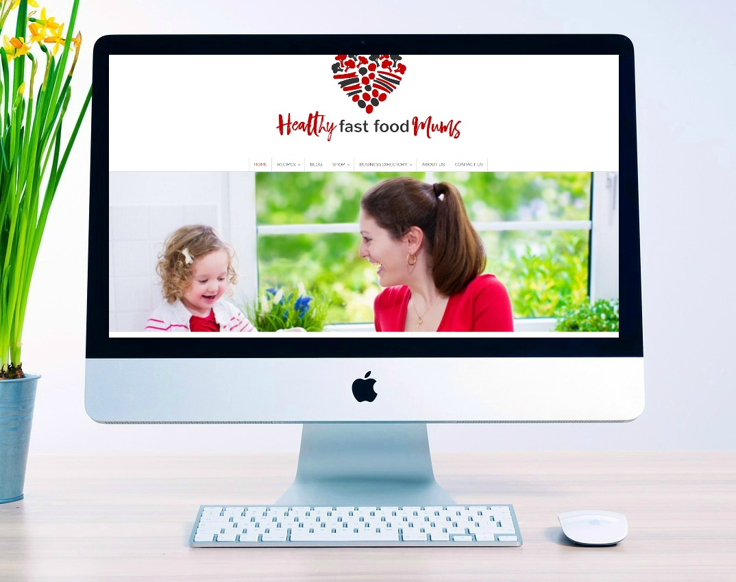 Healthy fast food mums website
