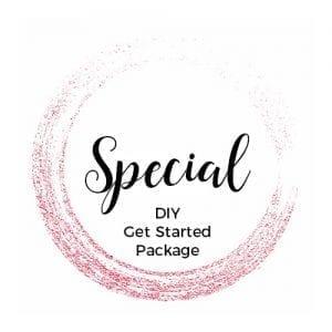 special DIY get started package