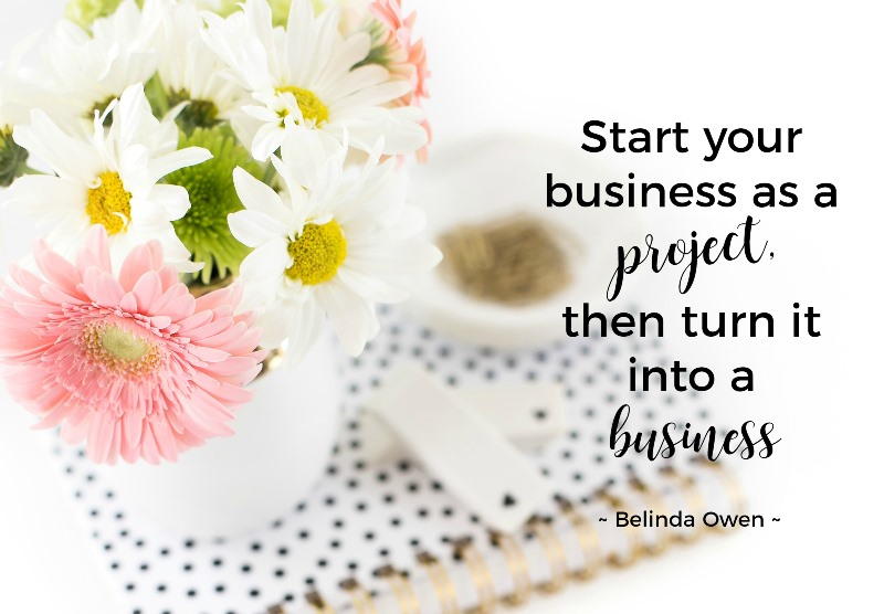 generating an income from a start up business