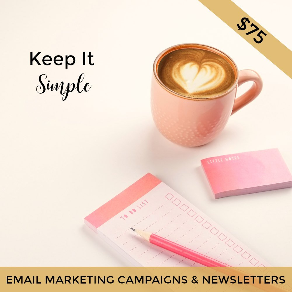 email marketing campaign and newsletter campaigns for Mailchimp brisbane