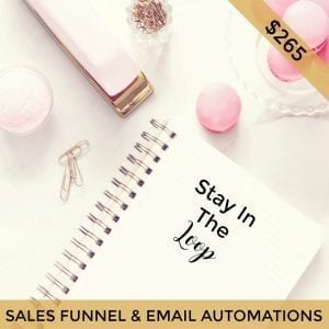 sales funnels and email automation for small Australian businesses