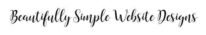 beautifully simple website designs