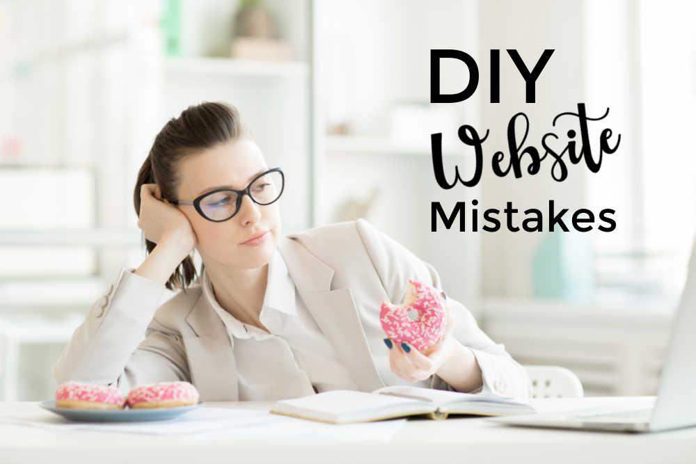 top 6 biggest DIY website mistakes